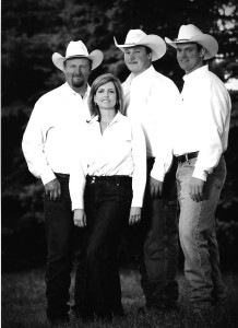 Family pic 2009 bw
